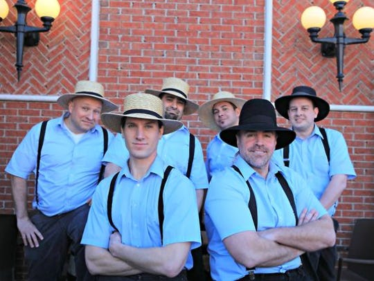 The Amish Outlaws will perform at the Dewey Winter Gala at the new Lighthouse Cove & Event Center on Saturday, Feb. 22.