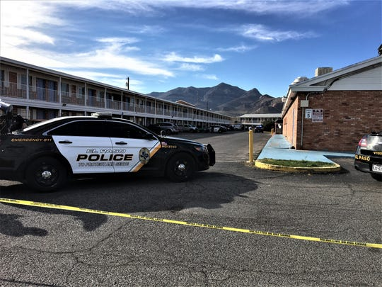 Crime scene tape blocks the SuperLodge Motel at 9487 Dyer St., near the McDonald's restaurant in Northeast El Paso where a young girl was stabbed Tuesday, Feb. 18, 2020.