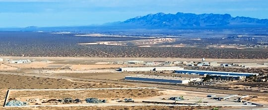 El Paso's W. Silver Recycling plans to put a $7 million metal-processing facility on its 60-acre site, shown at the bottom of the photo, in an industrial park in Santa Teresa, New Mexico, near El Paso's Upper Valley.