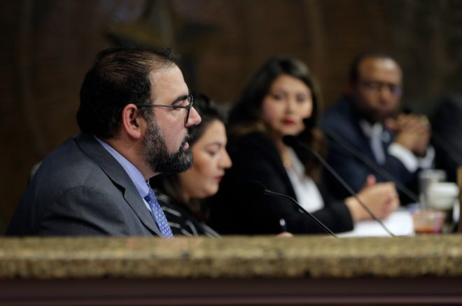 El Paso city Rep. Peter Svarzbein was voted mayor pro tempore at the City Council meeting Tuesday, Feb. 18, 2020.