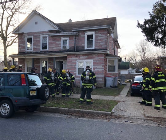 Vineland firefighters extinguished a stove fire at a South Eighth Street apartment. Feb. 18, 2020