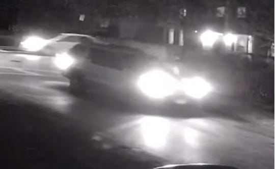 Yonkers police are seeking information about this SUV, which struck  a 76-year-old man crossing North Broadway and Morsemere Avenue about 5:15 p.m. Jan. 10, 2020. The pedestrian was seriously injured.