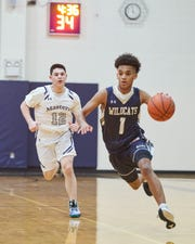 Rye Country Day junior guard Ben Pearce scored his 1,000th career point on Feb. 12, 2020.