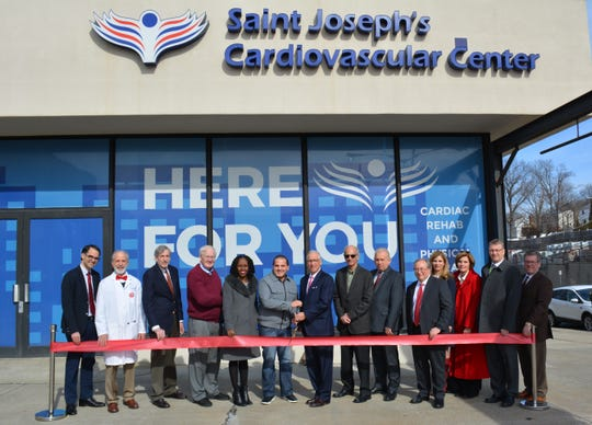 The opening of Saint Joseph's Medical Center's new physician-supervised outpatient Cardiac Rehabilitation Program in Yonkers.