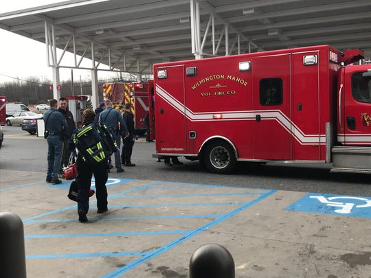One person was taken to the hospital Tuesday morning after reportedly overdosing inside the bathroom at the Wawa on Commons Boulevard.