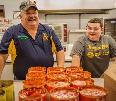The Denmark FFA Alumni Chapter's true strength lies in its ability to pull together and serve both Denmark FFA members and its local community, and that's why it was named the Outstanding FFA Alumni Chapter at the 92nd National FFA Convention & Expo in 2019.