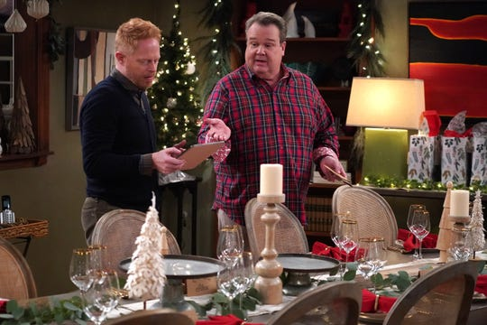 Jesse Tyler Ferguson, left, and Eric Stonestreet star in ABC's 'Modern Family,' which ends its 11-season run on April 8.