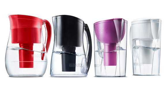 Get better-tasting drinking water with a Brita filter.