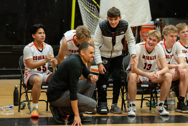 Head coach John William Parsons keeps the Half Moon Bay High School boys basketball team loose and engaged with innovative training techniques.