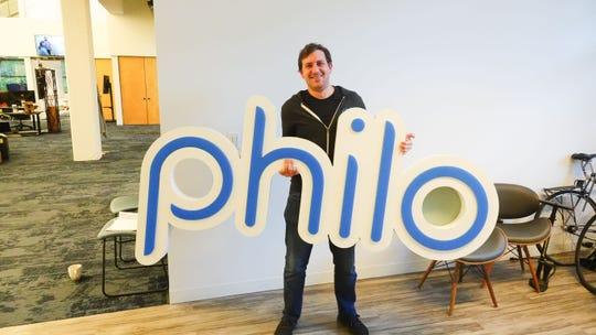 Philo TV CEO Andrew McCollum at Philo headquarters in San Francisco