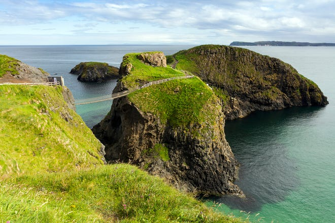 Advance planning is also necessary if you're planning to visit a few popular sights near the town of Portrush, on the northern coast. To walk across Carrick-a-Rede rope bridge, dramatically suspended above the Antrim Coast, it's smart to buy timed-entry tickets ahead of your visit (now available online).