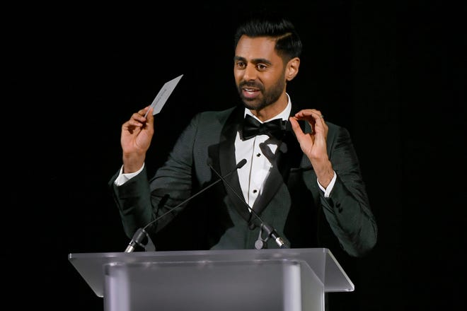 Hasan Minhaj, one of the  entertainers at this year's White House Correspondents Association dinner.