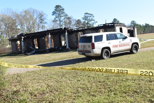The Feb. 7 fire that destroyed the Pineville home of Kayla Giles has been ruled to have been intentionally set. It remains under investigation. It was cited in a motion filed by the state that seeks to revoke her bond and send her back to jail to await her May 4 trial on second-degree murder and obstruction of justice charges in the Sept. 8, 2018, shooting of her estranged husband, Thomas Coutee Jr.