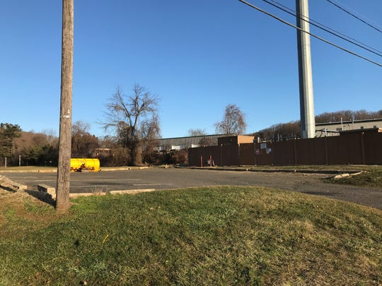 This location along Garden State Arts Center Road in Holmdel is slated for a new proposed fire headquarters.