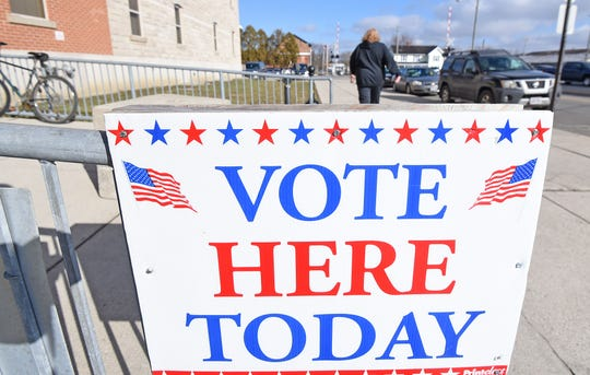 The Crawford County Board of Elections at 112 E. Mansfield Street Suite A was operational as early voting for the March 17 primary started Wednesday.