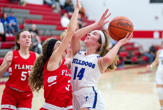 Crestline's Lauryn Tadda averaged a double-double for the third straight year.