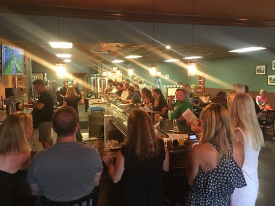 Tindall Road Brewery packed the house for its opening weekend last July.