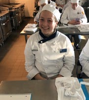 Alyssa Rosenthal of Voorhees in a freshman class at Johnson & Wales University in Providence, Rhode Island, before suffering several strokes on Sept. 25, 2019. She is returning to school and will appear on a segment of the Rachael Ray show to air Thursday.