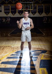 As a senior leader on the Unioto basketball team Nate Keiser is described as a quiet guy but one who is listened to when he does speak.