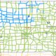 Roads in portions of northwest and northern Iowa were partially snow-covered on Wednesday morning, according to the Iowa Department of Transportation.