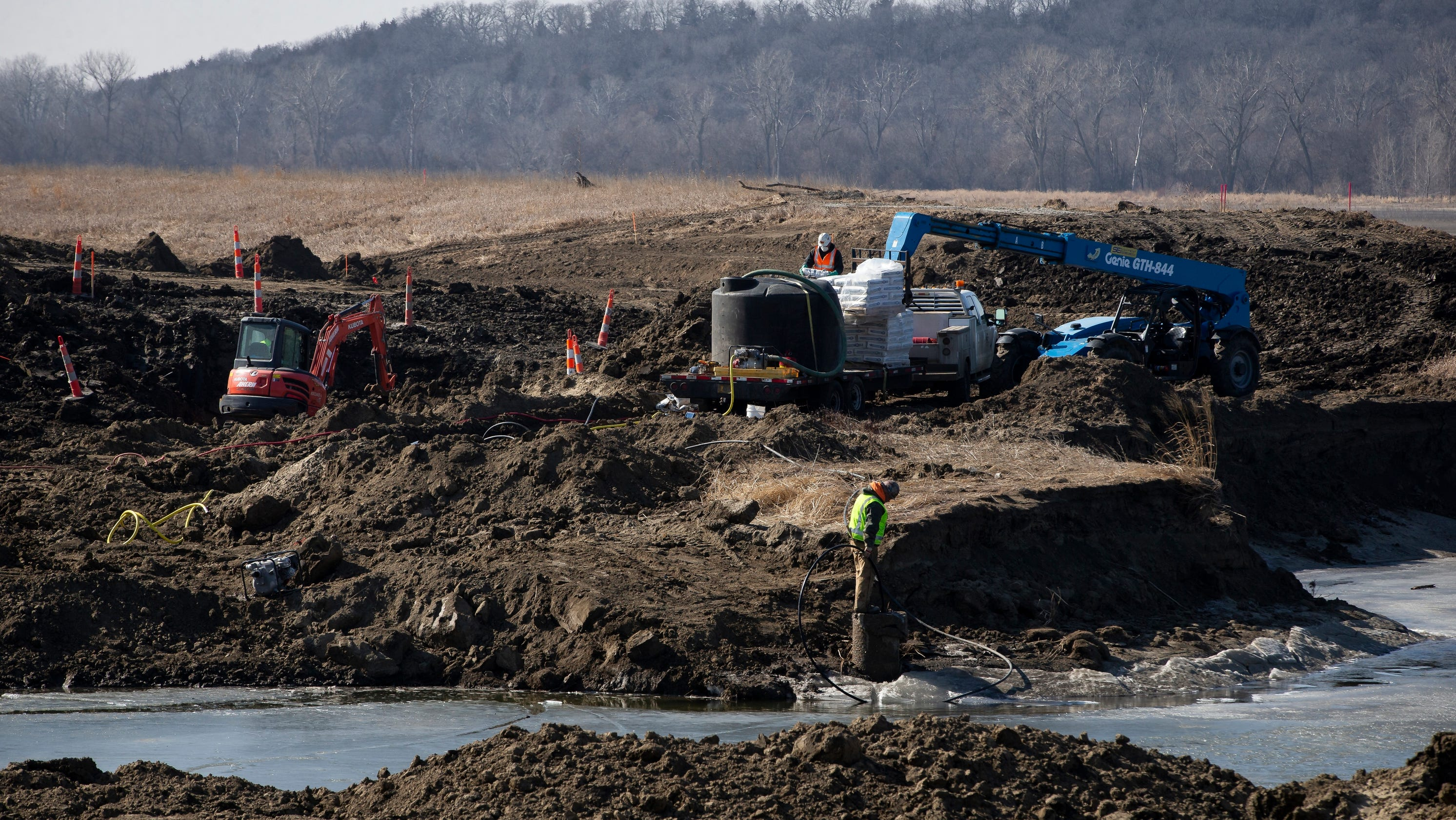 Iowa flood victims need money for levees, buyouts. But state funding so far is a trickle: It's $63.3 million short.