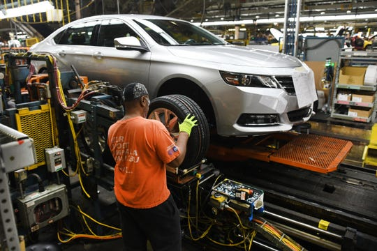 Nearly 47,000 workers were employed by GM in Michigan last year. Those jobs supported another 153,600 other jobs here, according to a study by the Center for Automotive Research that was commissioned by the automaker.