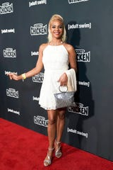 """Lark Voorhies attends the """"Robot Chicken"""" season 10 premiere presented by Adult Swim at The Theatre at Ace Hotel on Sept. 27, 2019 in Los Angeles, Ca."""