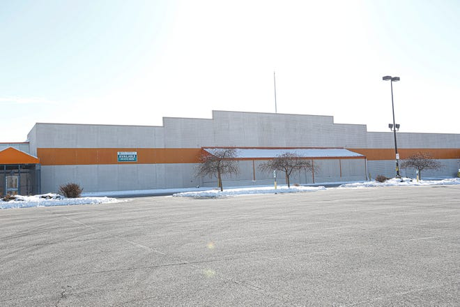 The old Home Depot building on West Johnson Street in Fond du Lac, Wis.