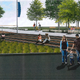 A rendering of the vision for downtown Sturgeon Bay's west waterfront redevelopment.
