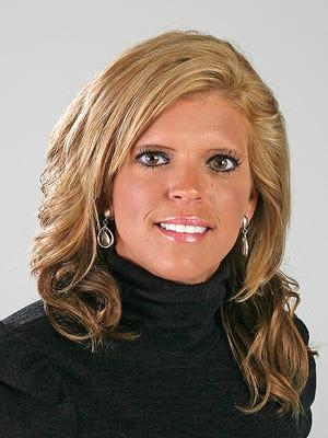 La escritora deportiva de IndyStar Dana Hunsinger Benbow.