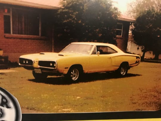 Randy Adams' 1970 Dodge Super Bee in 2001.