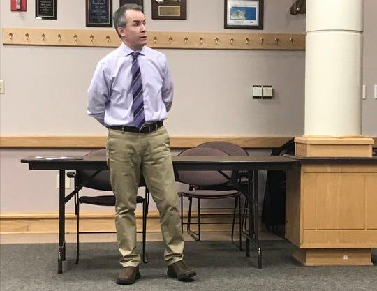 Dr. Jeremy Adler, Tippecanoe County health officer
