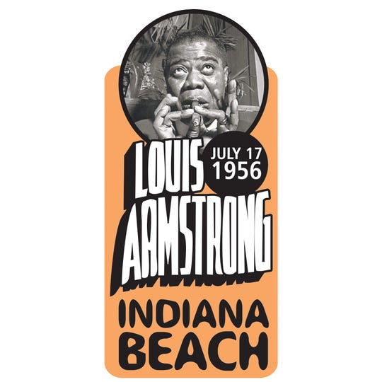Louis Armstrong played Indiana Beach on July 17, 1956. The act was among many who played the amusement park during its history.