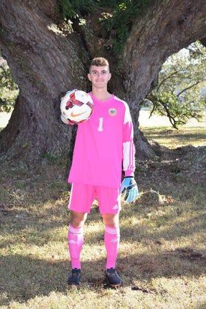 Beau Chene goalkeeper Grant Smith