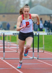 MHSAA Scholar-Athlete Award winner Kylie Ray of Pinckney placed 13th in the state Division 1 track and field meet in the 300-meter hurdles.