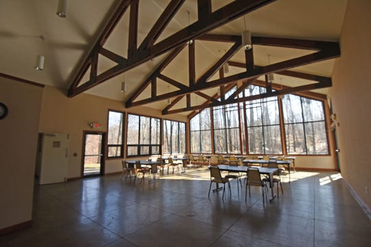 The retreat center has beautiful views and great potential to host events.