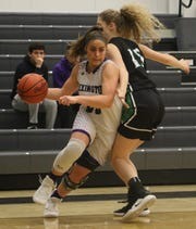 Lexington's Gabby Stover led Lady Lex to a win with eight points, eight rebounds and eight assists on Tuesday night.