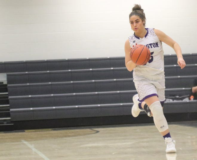 Lexington's Gabby Stover was named the Ohio Cardinal Conference Player of the Year for the 2019-20 season.