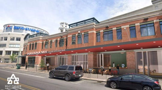 Havana Mix has plans to open a restaurant adjacent to its cigar lounge.