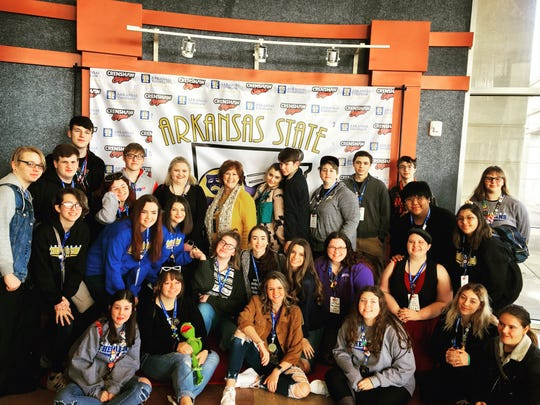 The Mountain Home High School Thespians recently earned several awards at the 2020 Arkansas State Theatre Festival.
