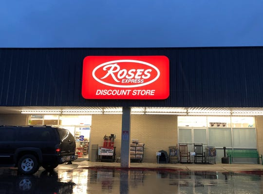 Roses Express Discount store at 522 Lincoln Road in Swartz.