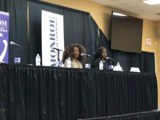 """Juanita Woods and Alicia """"Cocoa"""" McCoy Calvin are running for the District 3 City Council seat."""