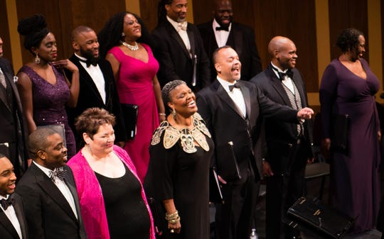 The American Spiritual Ensemble perform Thursday 7 p.m. at First United Methodist Church in Montgomery.
