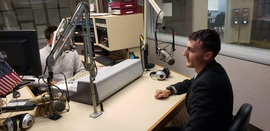 Matthew Peiffer speaking about his organization, A Voice for Kids, on a radio show.