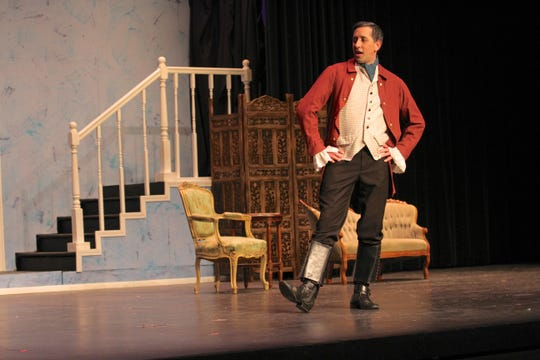 """Springhouse Theatre, 14119 Old Nashville Highway in Smyrna, presents """"The Trouble with Love"""" on stage."""
