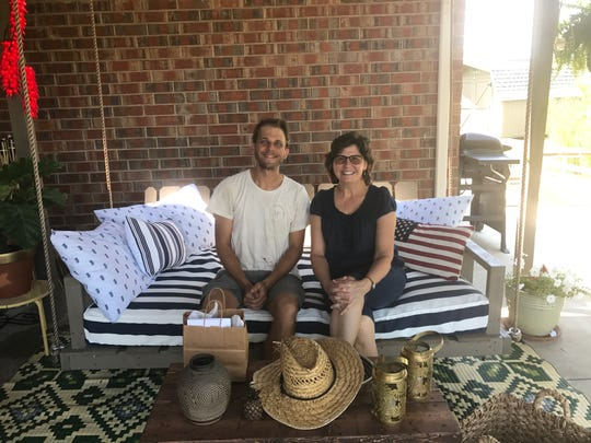 Laura Buchanan worked with Cody Jackson of C Jackson Designs to transform her backyard into space she can use year round.