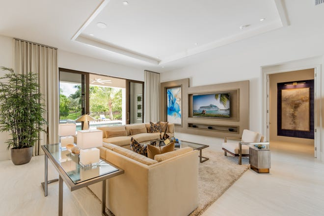 Priced at $2,697,000 with furnishings, London Bay Homes' 3,527 square feet under air Pembrook model is one of the residences being featured during the 2020 Model Home Showcase.