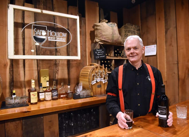 Jim Young, vintner and owner of Sand Hollow Winery and Sand Hollow Speakeasy, opened Sand Hollow Winery in 2012.