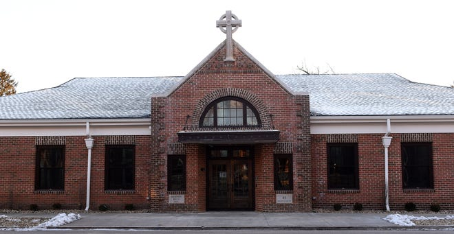 St. Francis de Sales' Faith and Family center is shown on Granville Street in Newark.