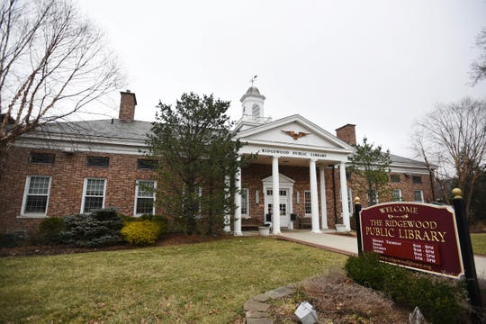 Photo of the Ridgewood Public Library in Ridgewood on 02/08/20.